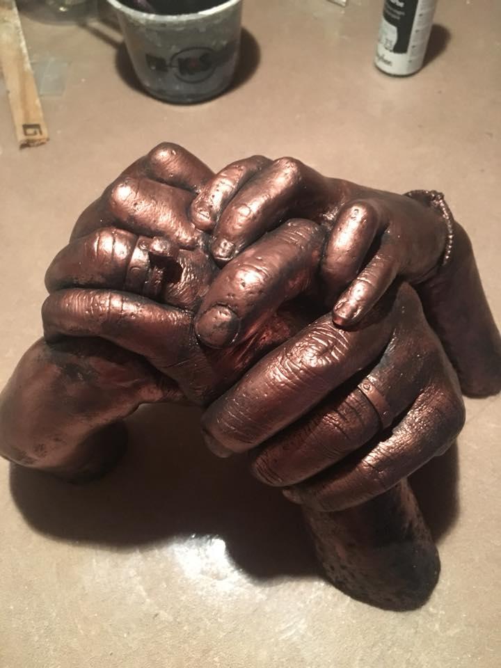 Hand-and-body-casting-laat-me-niet-gaan